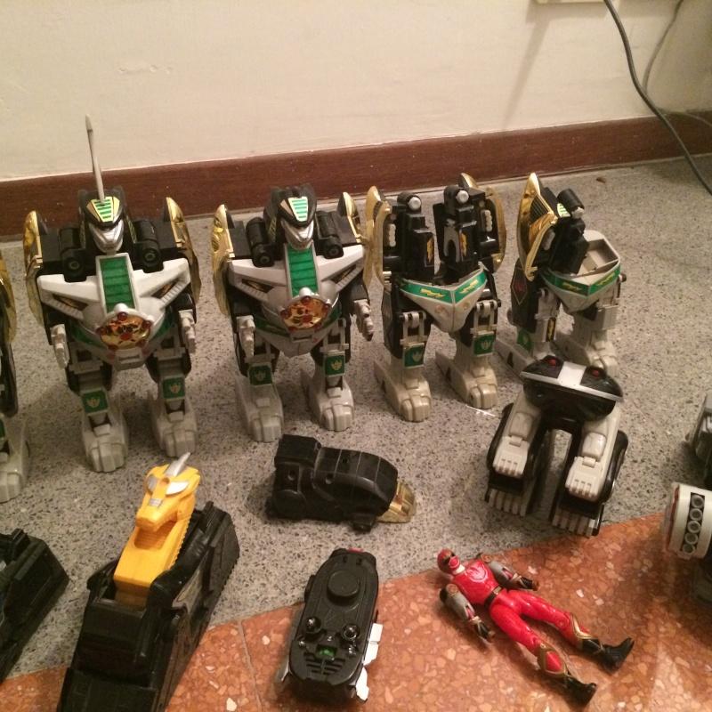 VENDO LOTTO POWER RANGERS MEGAZORD, DRAGONZORD, TITANUS, TOR, THUNDERZORD + PARTI VARIE Foto_212