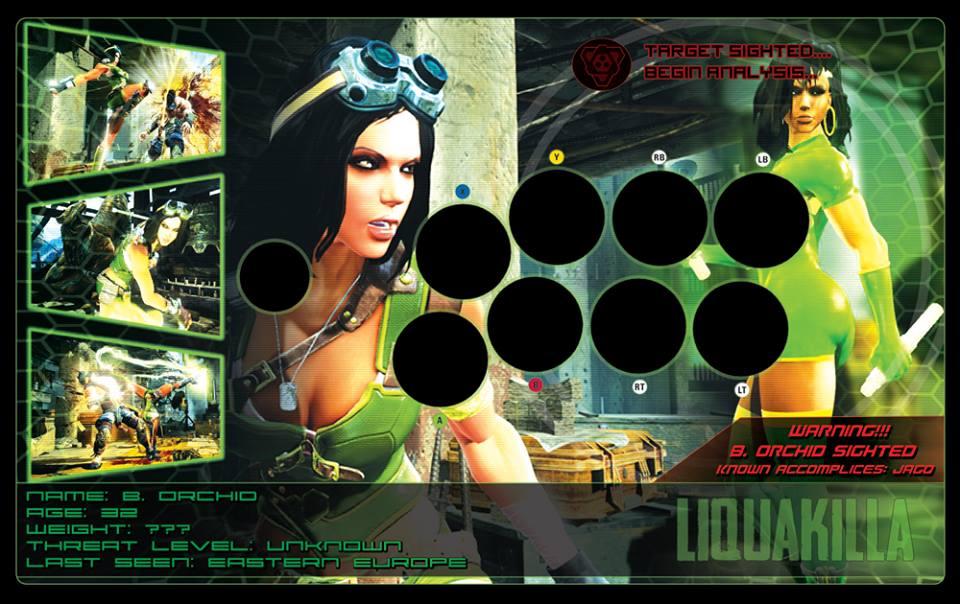 arcade stick killer instinct database 10888710