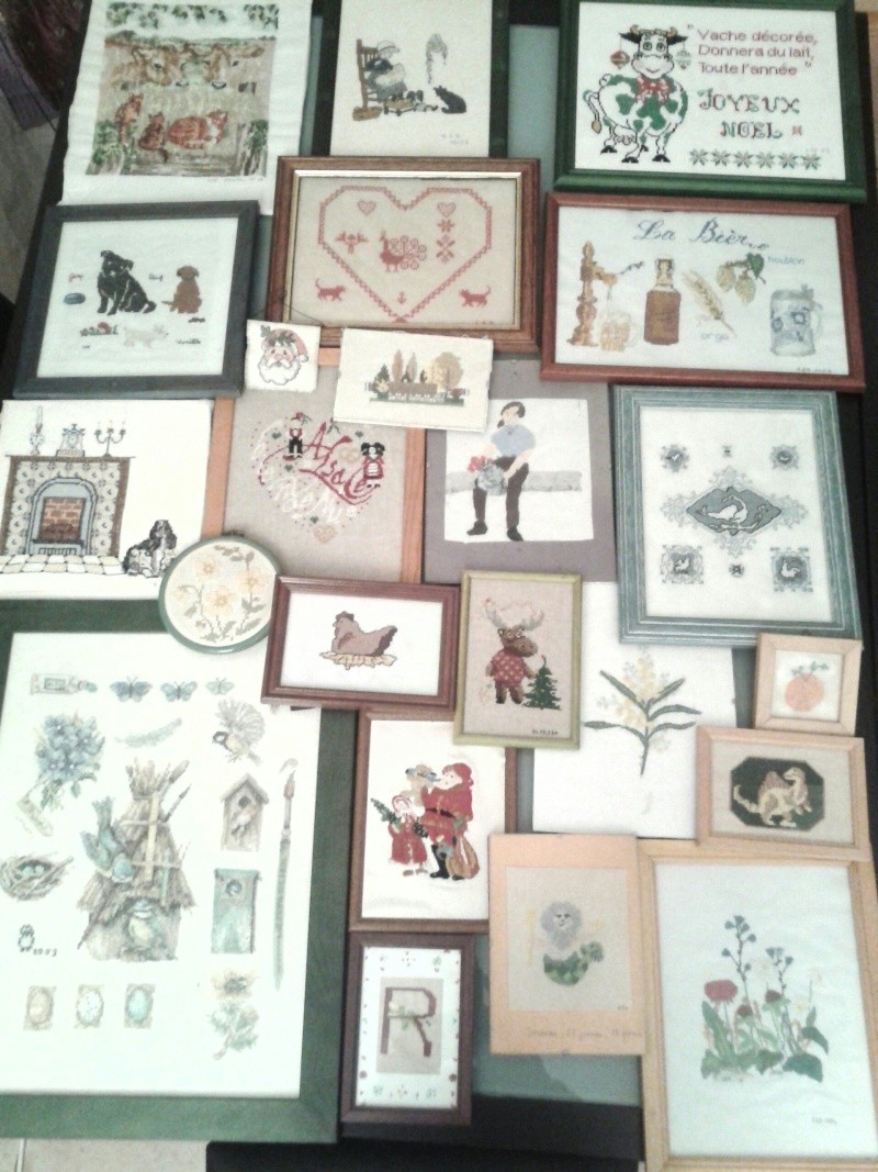 Galerie de lapone -Bonjour à toutes : voici des broderies réalisées à partir de 1990... Photo-15