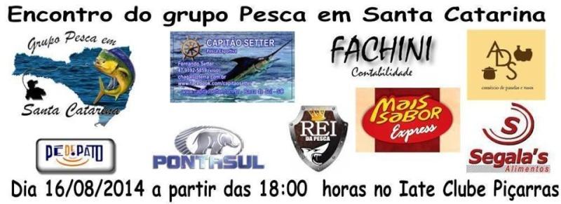 Primeiro encontro do Grupo Pesca em Santa Catarina Patroc10