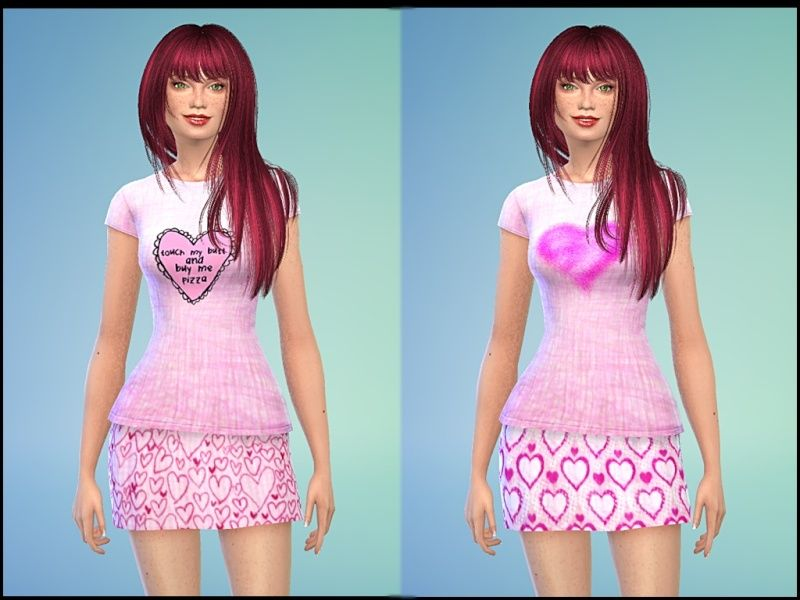 Valentine T-shirts and Skirts by Tacha75 2qsmr211