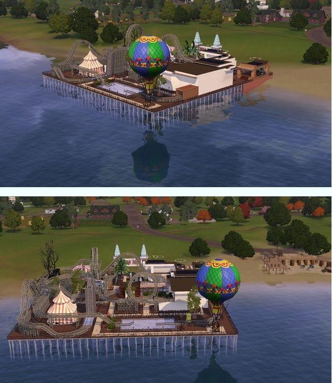 Sandy Beach Amusement Park by clovrboy1 Captur20