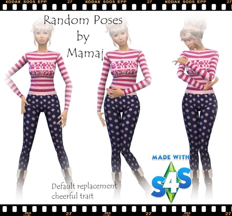 Random Poses by Mama J Random10