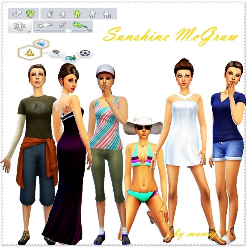 Sunshine McGraw by mamaj Spaboo11