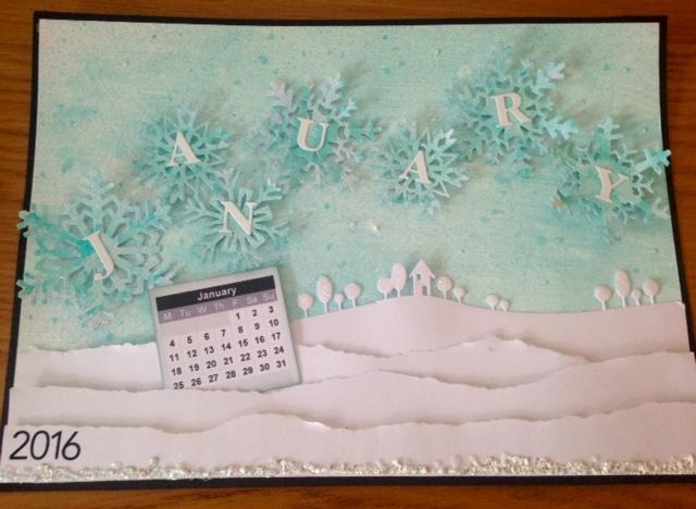 January - Aqua - Snowflakes  Deadline Dec 31st Cal_ja11