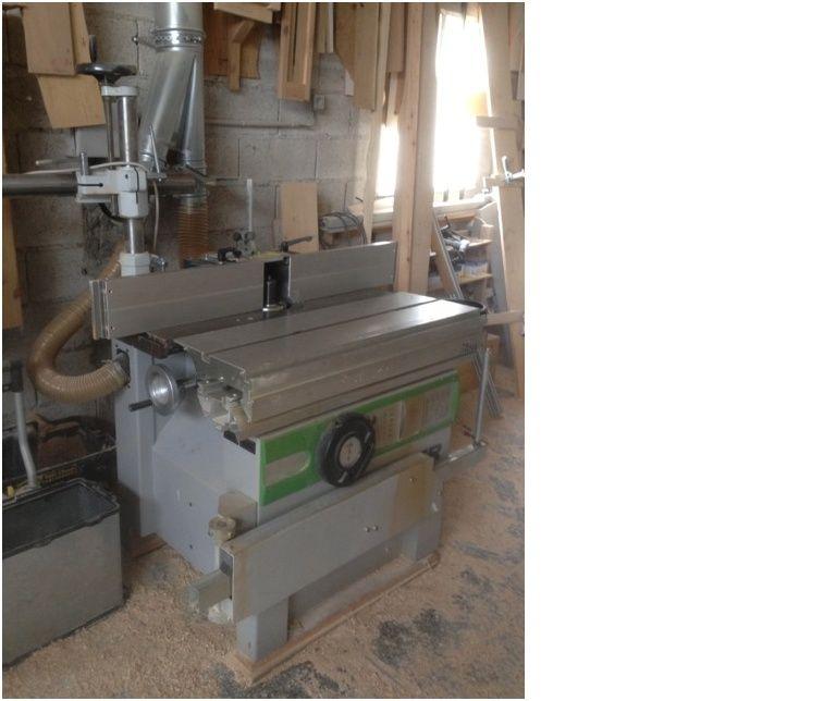 Lot de machines à bois à vendre. Toupie11