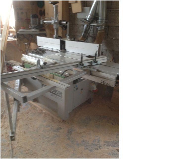Lot de machines à bois à vendre. Toupie12