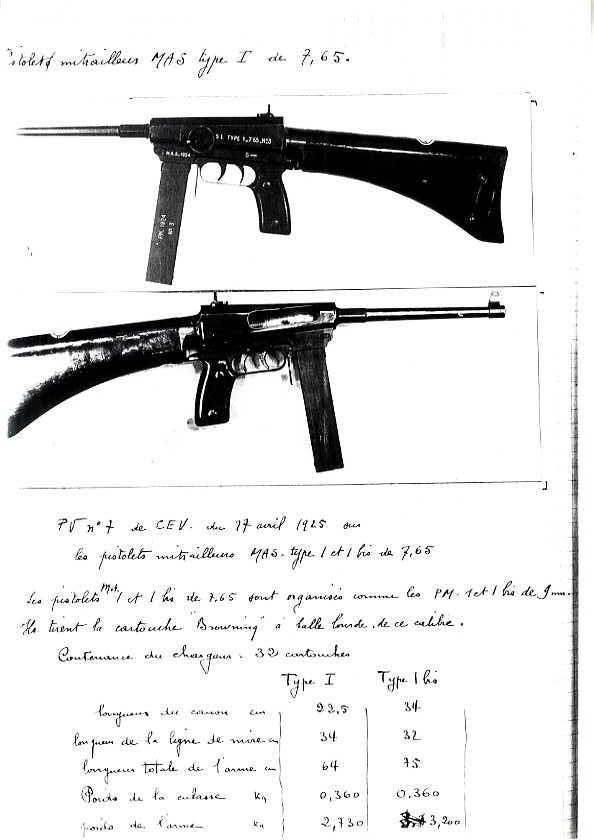 Pistolet Mitrailleur MAS 1933 Pm_mas16