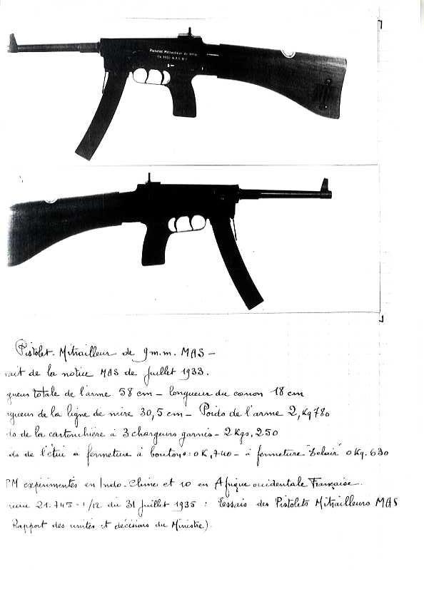 Pistolet Mitrailleur MAS 1933 Pm_mas19