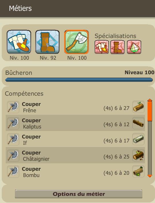 Comment monter le métier de bûcheron ? Metier10