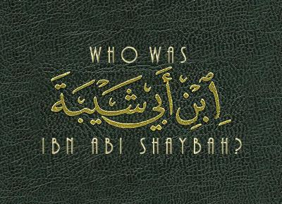 ibn Abi Shaybah Shayba10