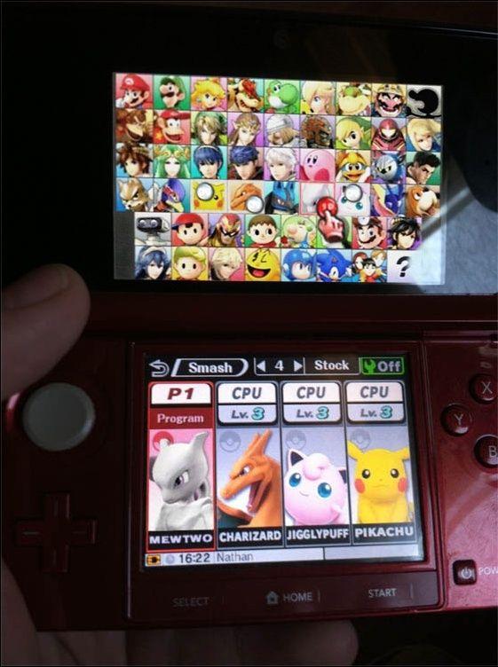 Mewtwo dans Smash 3DS mais wait... LUCAS?! Lucas10
