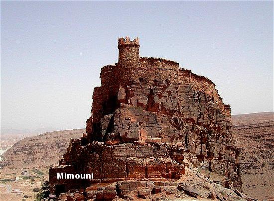Amazigh - La technique des constructions de greniers imprenables berberes Amazigh Grenie13