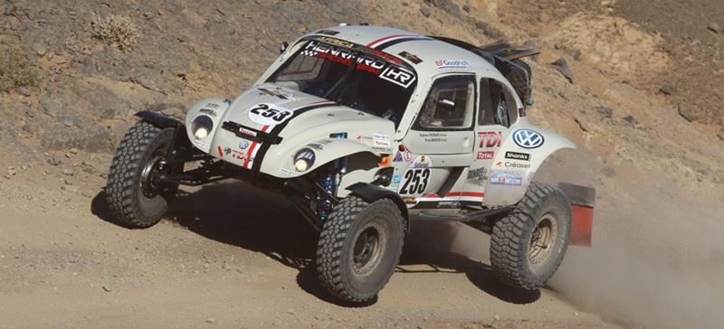 Une cox sur le Dakar 2015 Beetle10