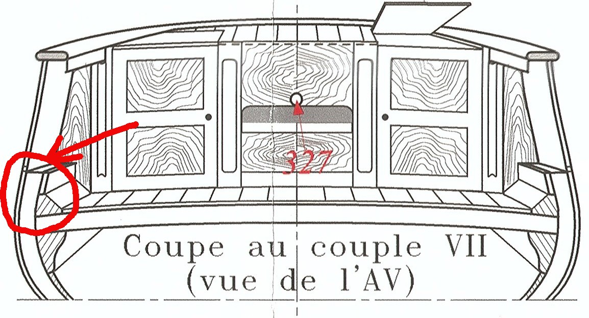 La Toulonnaise d'après le plan AAMM 1/48 Coupe_11