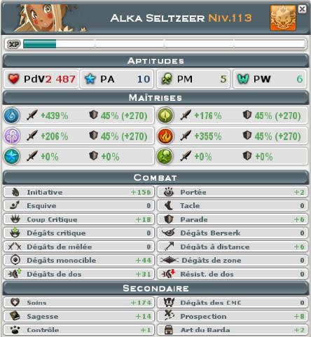 Candidature de Alka Seltzeer Wakfu211