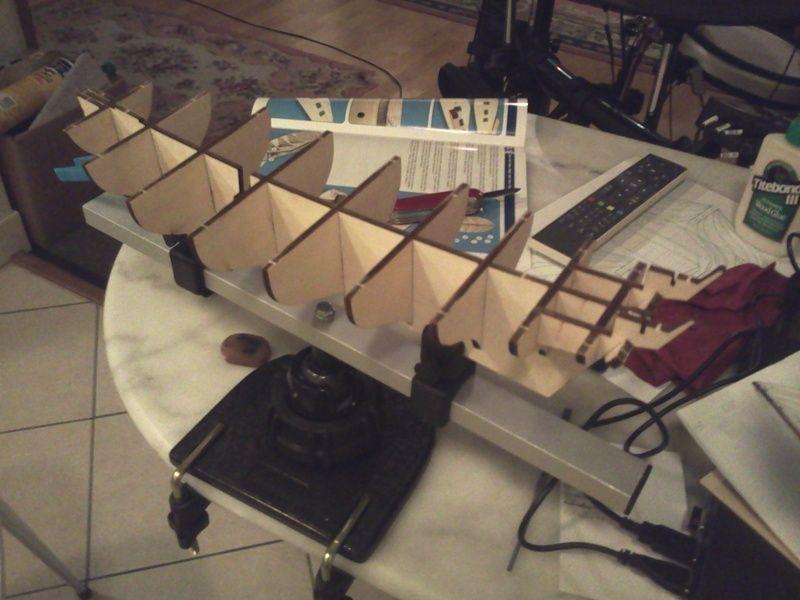 Le Renard échelle 1/50 kit Artesania Latina  Resize11