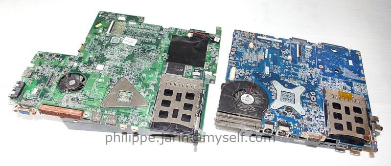 [VDS] Vds, Deux cartes mère PC portables. 15€ Carte210