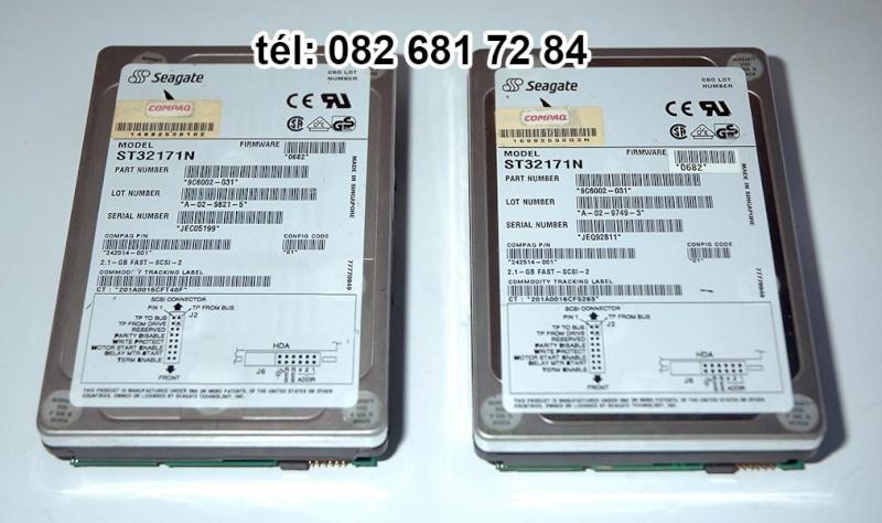 [VENDU] Deux disques dur SCSI Seagate, ref: ST32171N 3,5 15€ Dd110