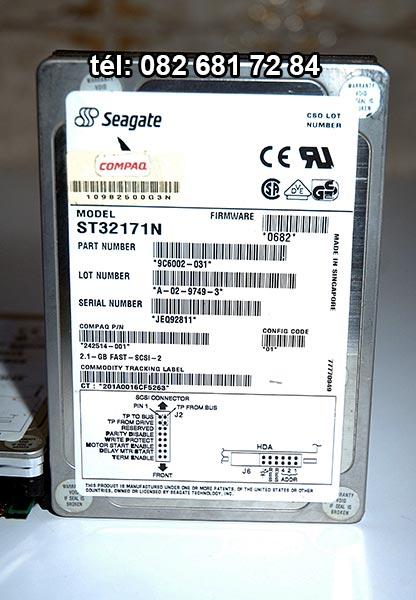[VENDU] Deux disques dur SCSI Seagate, ref: ST32171N 3,5 15€ Dd210