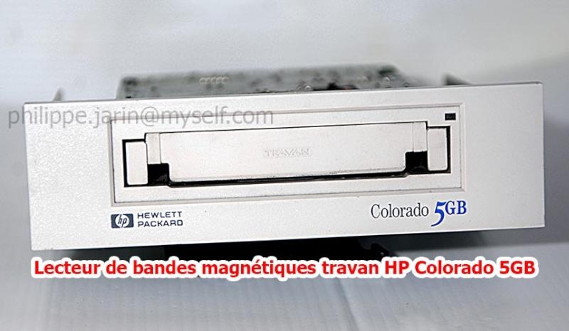 [VDS] Lecteur de bandes magnétiques travan HP Colorado 5GB  25€ Ph0610