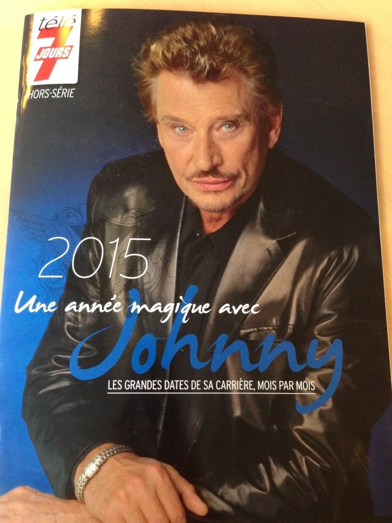 """Télé 7 jours édition limitée """"2015 une année magique avec Johnny"""" Johnny13"""