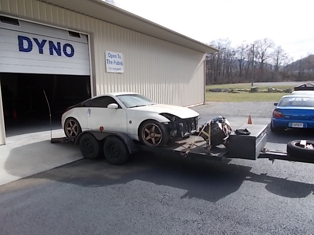 The process of an LS-Z 350z_t11