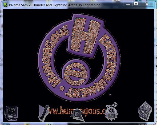 Humongous Entertainment logo room in ScummVM's Debugger 3dd78110