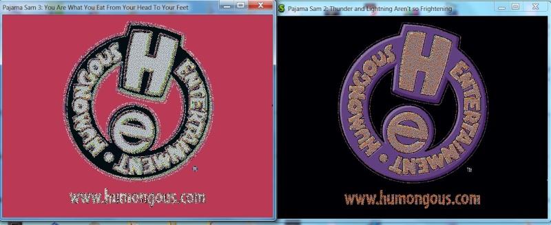 Humongous Entertainment logo room in ScummVM's Debugger 4a77b910