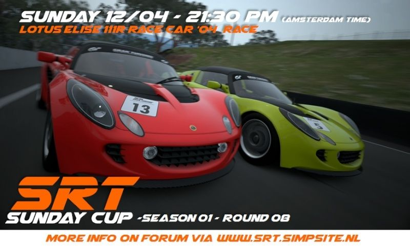 SRT SUNDAY CUP (SSC) - SEASON 01 - ROUND 08 - (CLOSED)   Ssc_r810