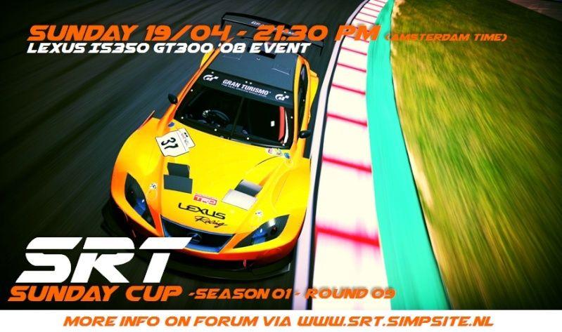 SRT SUNDAY CUP (SSC) - SEASON 01 - ROUND 09 - (CLOSED) Ssc_r910