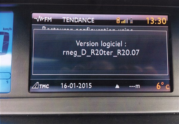 how to update firmware on myway citroen