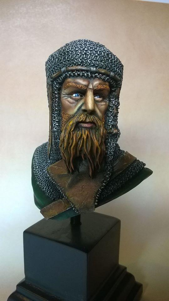 Buste de chevalier Cheval11