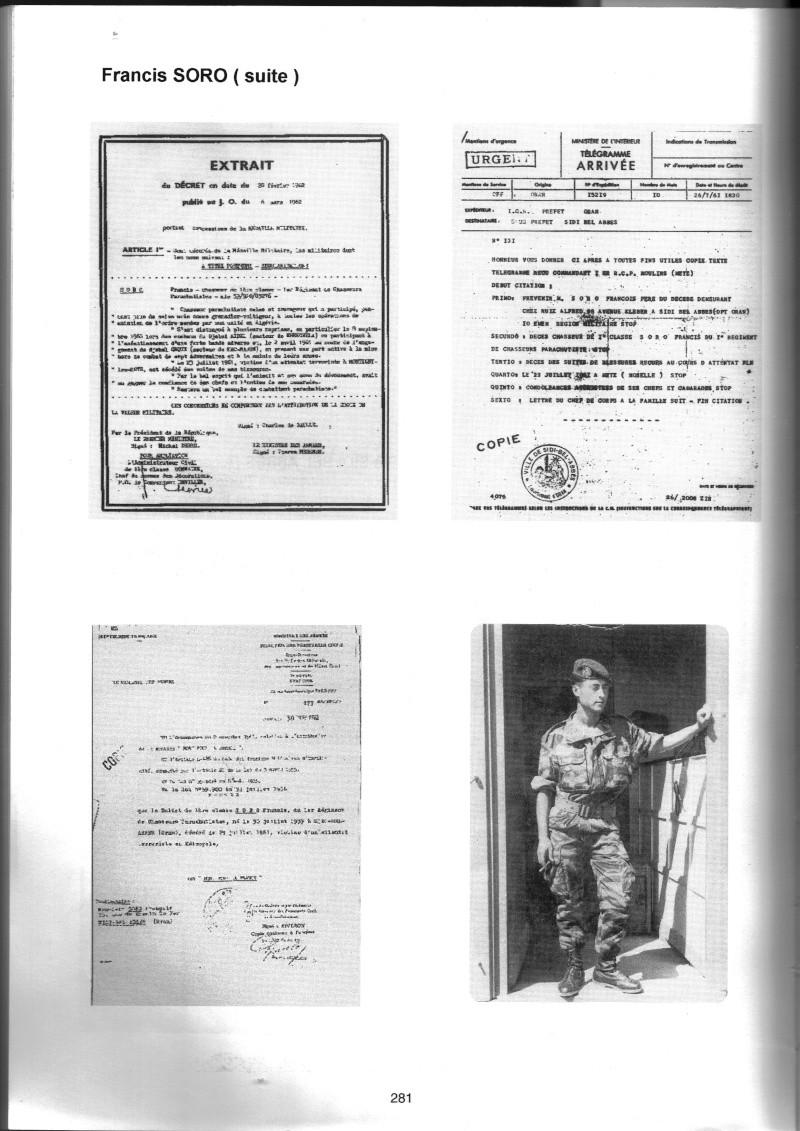 PARACHUTISTES du département de la COTE D'OR morts au champ d'honneur en Algérie Française Franci12