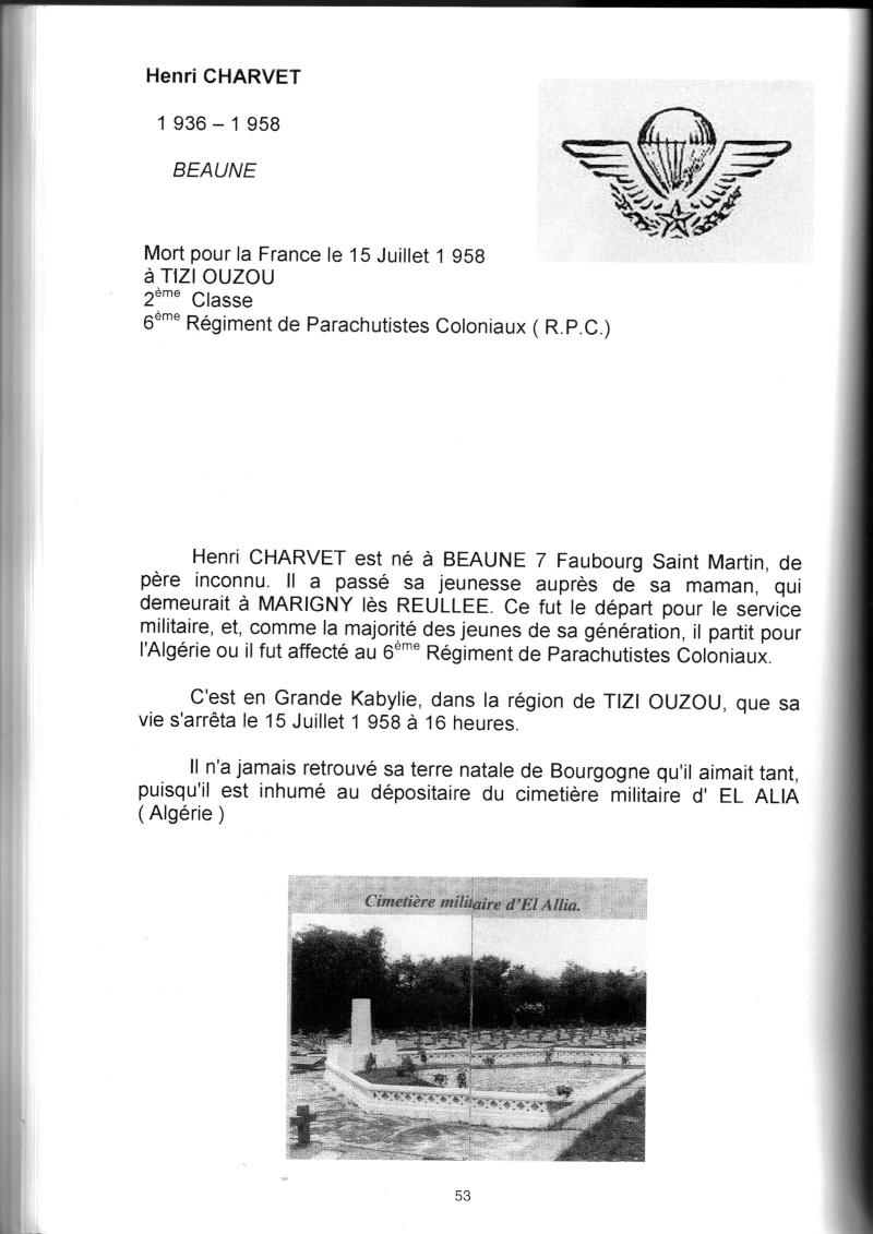 PARACHUTISTES du département de la COTE D'OR morts au champ d'honneur en Algérie Française Henri_10