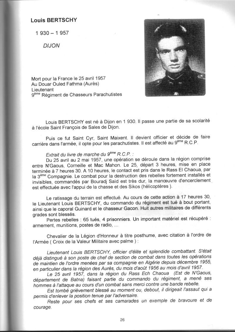 PARACHUTISTES du département de la COTE D'OR morts au champ d'honneur en Algérie Française Louis_11