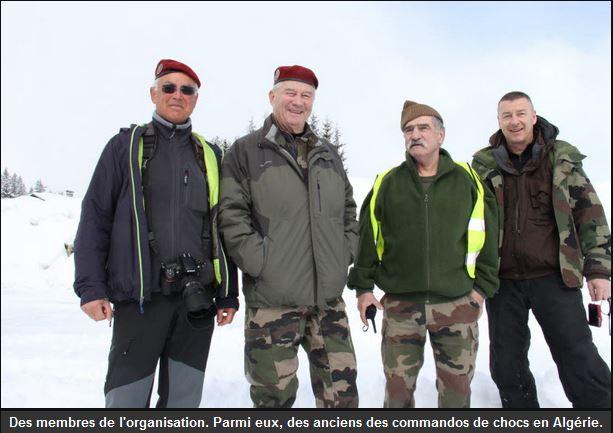 La section de Haute-Savoie de l'Union nationale des parachutistes a organisé, ce week-end, la 6e édition du Raid commando des Glières Unp_ht10