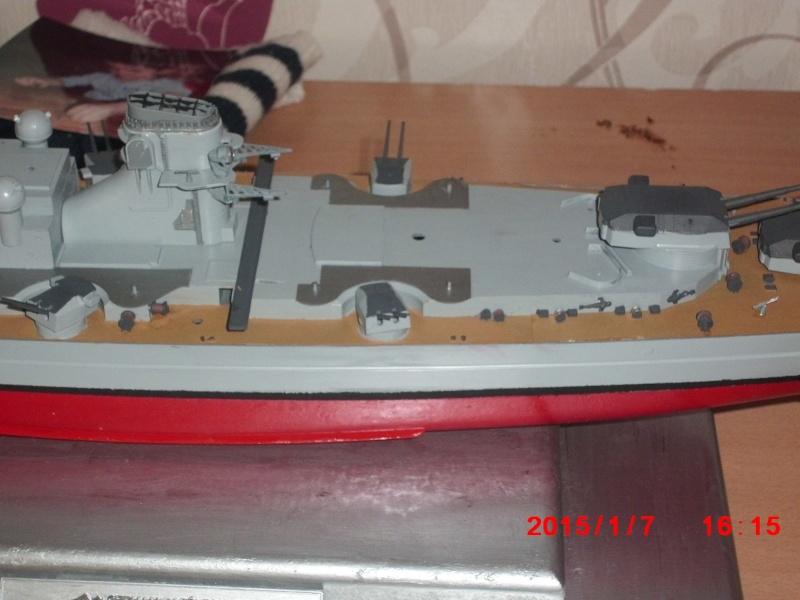 meine erste Tamiya Bismarck 1:350 15111