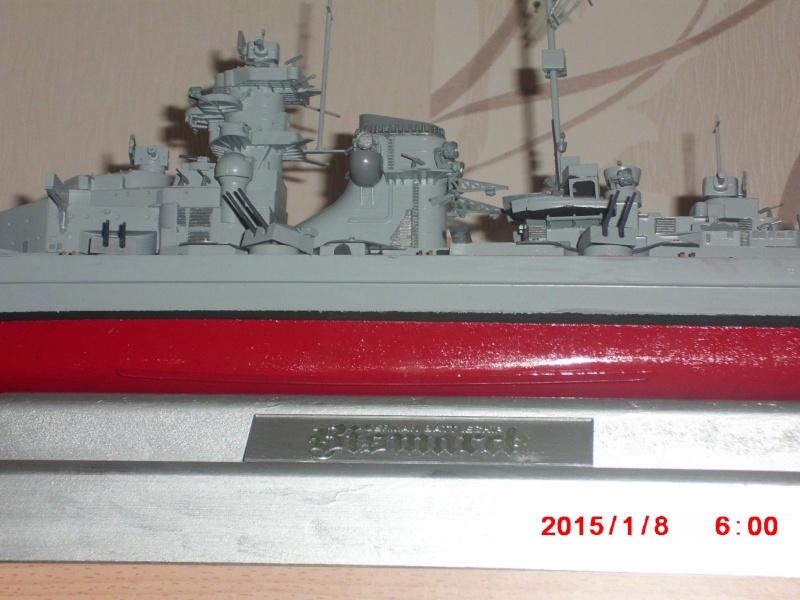 meine erste Tamiya Bismarck 1:350 15414