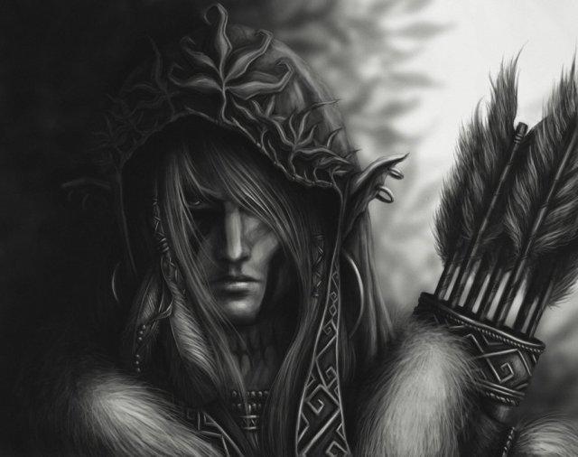 Elentir, rôdeur, disciple chasseur d'Erastil Archer10