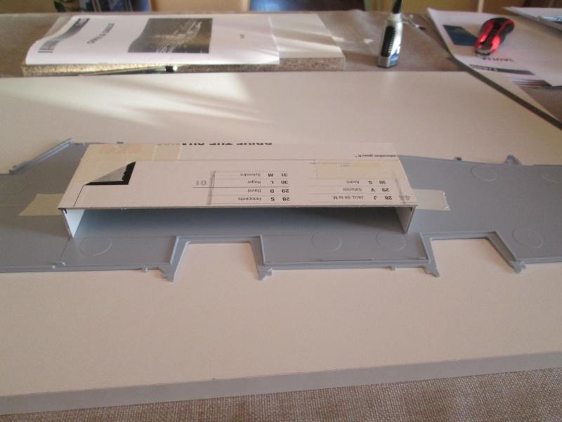 Porte avions Charles de Gaulle au 1/400e Heller par StephThom 00510