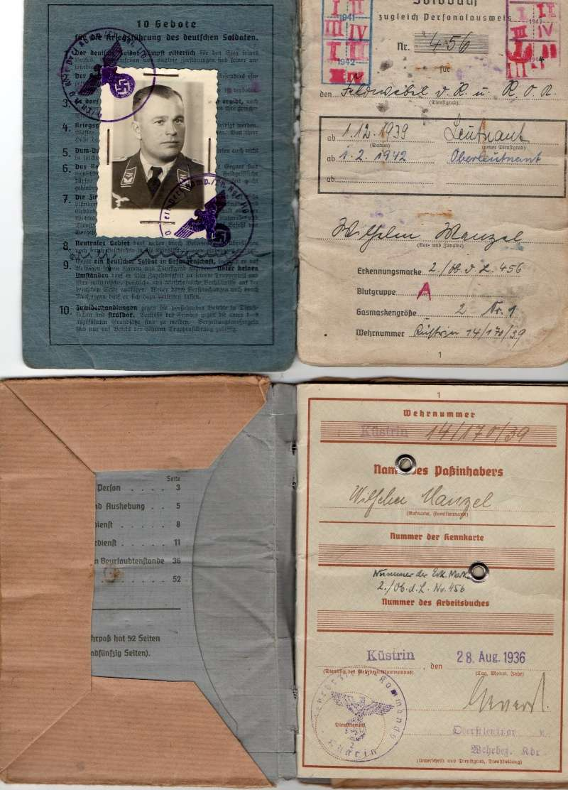 Vos livrets militaires allemands WWII (Soldbuch, Wehrpass..) / Heer-LW-KM-SS... - Page 2 Img00510