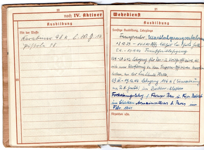 Vos livrets militaires allemands WWII (Soldbuch, Wehrpass..) / Heer-LW-KM-SS... - Page 2 Img00810