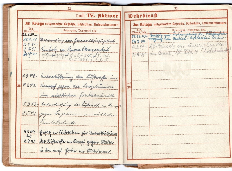 Vos livrets militaires allemands WWII (Soldbuch, Wehrpass..) / Heer-LW-KM-SS... - Page 2 Img00910