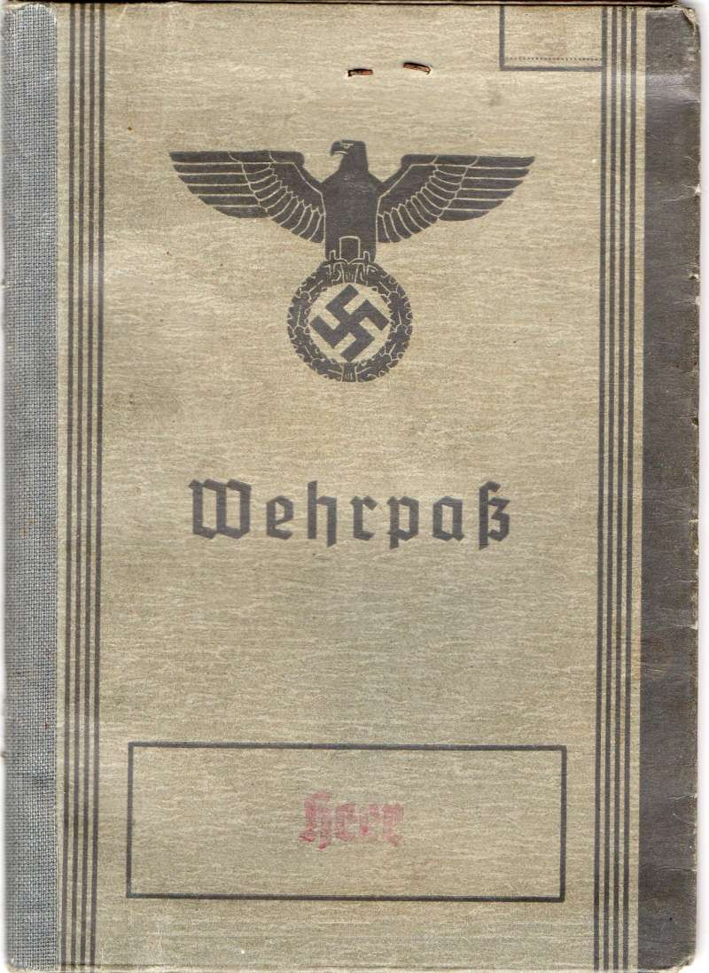 Vos livrets militaires allemands WWII (Soldbuch, Wehrpass..) / Heer-LW-KM-SS... - Page 2 Img02910