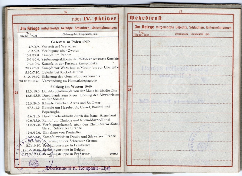 Vos livrets militaires allemands WWII (Soldbuch, Wehrpass..) / Heer-LW-KM-SS... - Page 2 Img03510