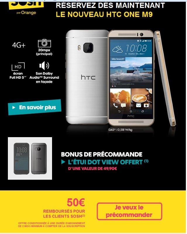 [Info] HTC one M9 - Où l'acheter et à quel prix ?  - Page 2 Sosh110