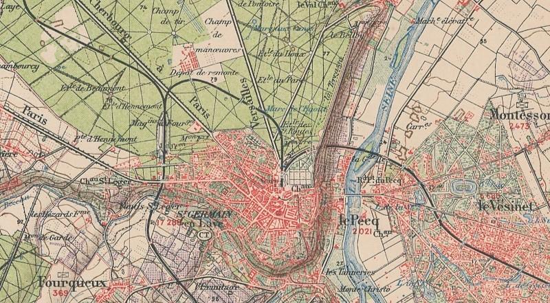 Ligne de St Germain Grande Ceinture à St Germain en Laye Ligne_17