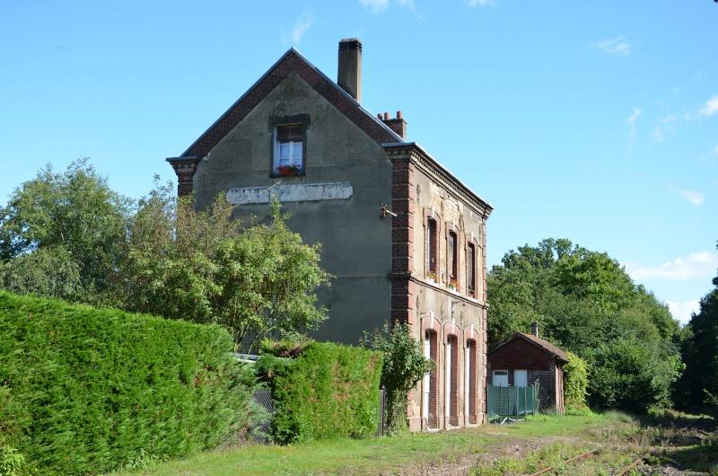 La gare de Saint Pierre lès Elbeuf (hier et aujourd'hui) St_pie15