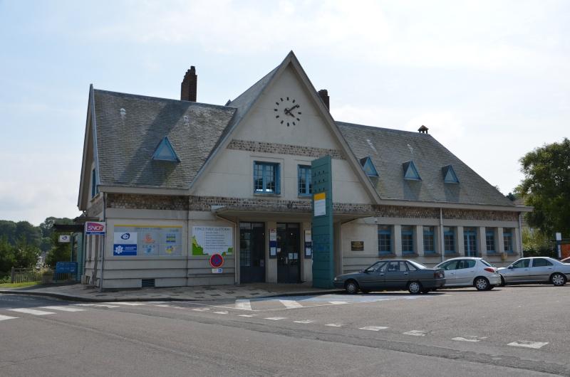 La gare de Saint Valéry en Caux St_val13